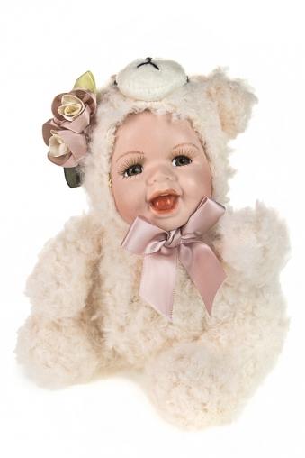 """Игрушки-куклы Красный куб Кукла мягконабивная """"Гламурный мишенька"""""""