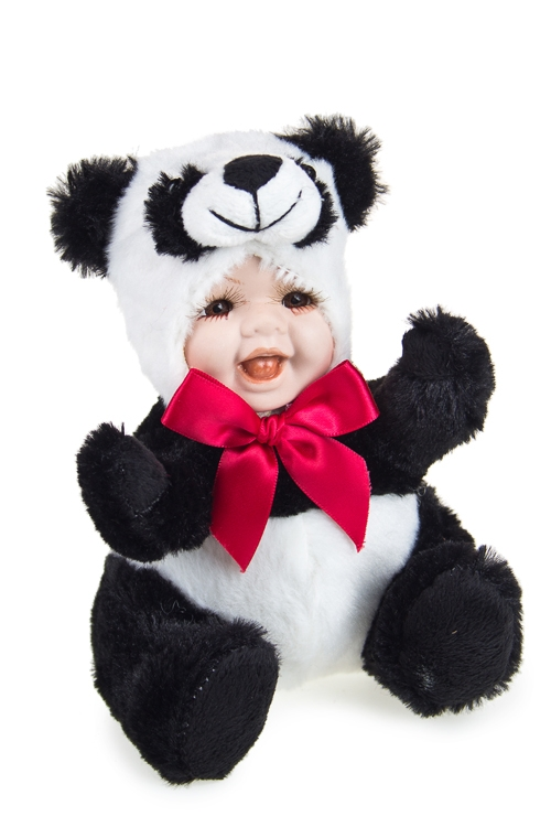 """Игрушки-куклы Красный куб Кукла """"Маленькая панда"""""""