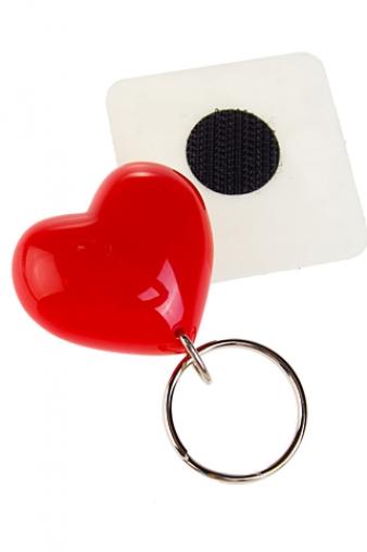 """Брелоки Красный куб Брелок с магнитом """"Сердце"""""""