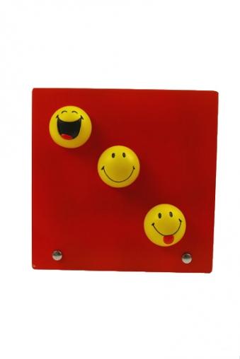 """Пластиковые фоторамки Красный куб Рамка для фото """"Смайлики"""""""