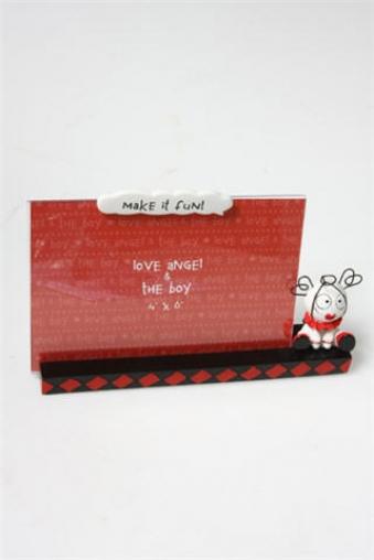 """Пластиковые фоторамки Красный куб Рамка для фото """"Ради веселья"""""""