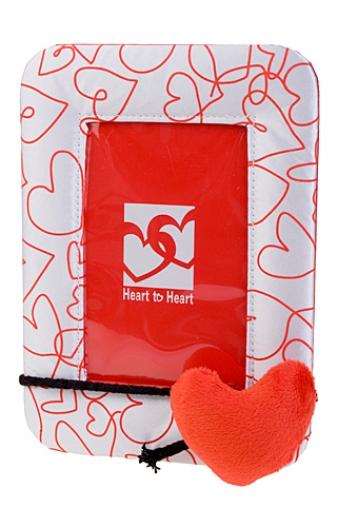 """Свадебные фоторамки Красный куб Рамка для фото """"Нити любви"""""""