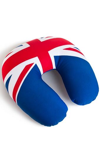 """Сувениры для мужчин Красный куб Подушка-подголовник """"Англия"""""""