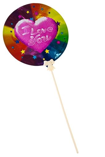 """Воздушные шары Красный куб Шар самонадувающийся """"Любовь"""""""