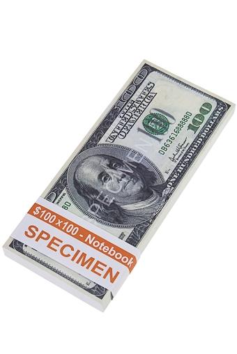 """Сувениры и упаковка Красный куб Сувенир """"Доллары"""""""