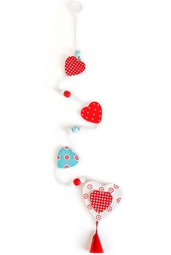 """Декоративные гирлянды и подвески Красный куб Сувенир """"Краски любви"""""""