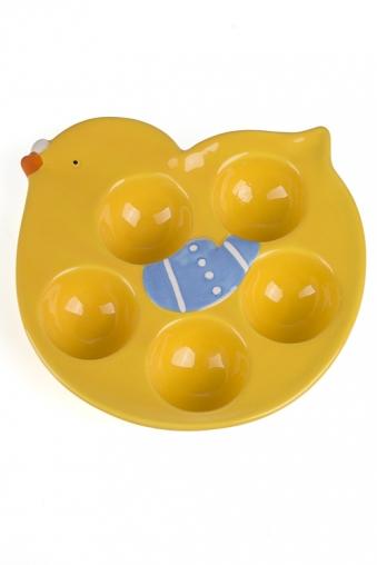 """Тарелки и пиалы Красный куб Блюдо для яиц """"Птенчик"""""""