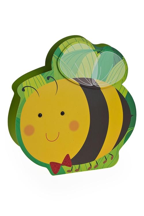 """Пакеты на любой повод Красный куб Пакет подарочный """"Пчелка"""""""