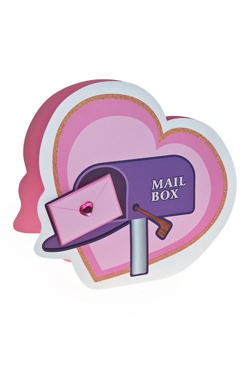 """Пакеты про Любовь Красный куб Пакет подарочный """"Любовное послание"""""""