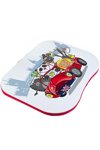 """Подставки для ноутбуков Красный куб Подставка для ноутбука с подушкой """"Веселая компания"""""""