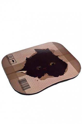 """Подставки для ноутбуков Красный куб Подставка для ноутбука с подушкой """"Кот в коробке..."""""""