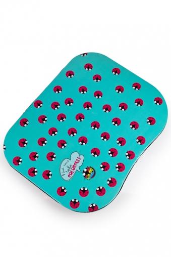 """Подставки для ноутбуков Красный куб Подставка для ноутбука с подушкой """"Божьи коровки"""""""