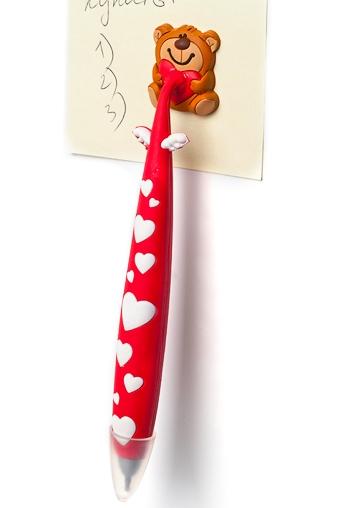 """Ручки и карандаши Красный куб Ручка """"Ласковый мишка"""""""