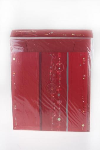 """Узкие подарочные коробки Красный куб Коробка подарочная """"Красный стиль"""""""