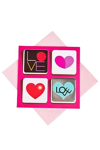 """Открытки про Любовь Красный куб Открытка подарочная """"Ответное чувство"""""""
