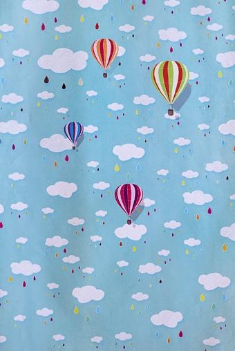 """Упаковочная бумага Красный куб Бумага упаковочная """"Воздушные шары"""""""