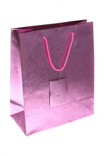 """Пакеты на любой повод Красный куб Пакет подарочный """"Классика"""""""