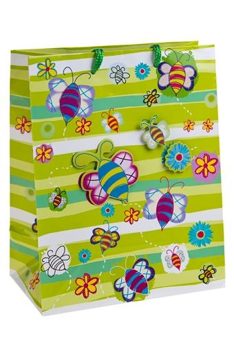 """Пакеты на любой повод Красный куб Пакет подарочный """"Краски лета"""""""