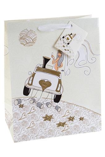 """Пакеты «С Днем свадьбы» Красный куб Пакет подарочный """"Свадебный кортеж"""""""