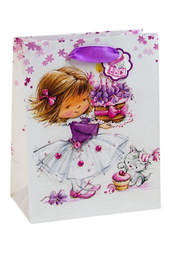 """Пакеты на любой повод Красный куб Пакет подарочный """"С теплыми пожеланиями"""""""