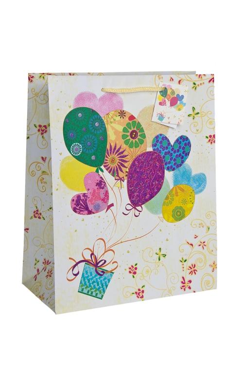 """Пакеты «С Днем рождения» Красный куб Пакет подарочный """"На всех парах!"""""""