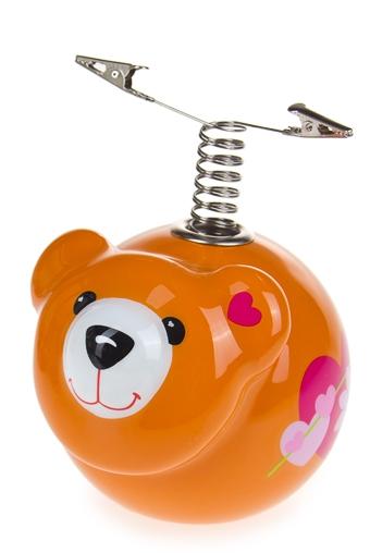 """Подставки для карандашей Красный куб Подставка для ручки """"Влюбленный мишка"""""""