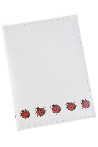 """Обложки для паспорта Красный куб Обложка для паспорта """"Божьи коровки"""""""