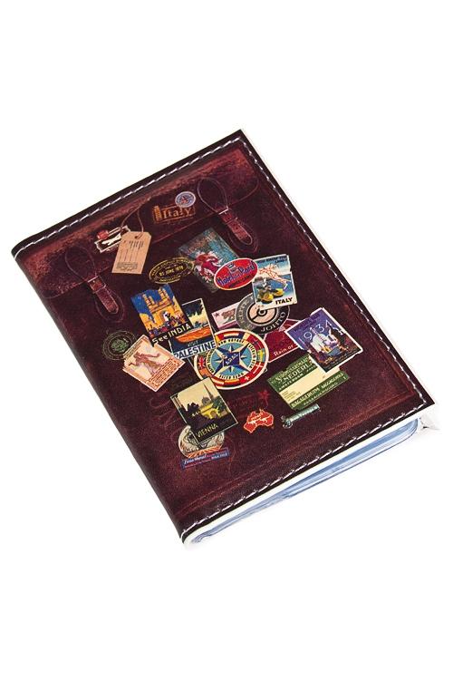"""Сувениры для женщин Красный куб Держатель для дисконтных карт/визиток """"Чемодан"""""""