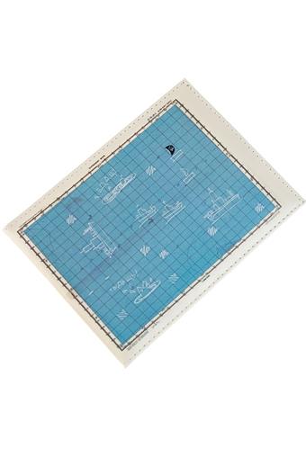 """Обложки для студенческих Красный куб Обложка для зачетки """"Баренцево море"""""""
