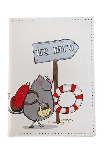 """Обложки для паспорта Красный куб Обложка для паспорта """"На ЮГ"""""""