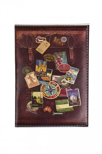 """Сувениры для женщин Красный куб Обложка для паспорта """"Чемодан"""""""