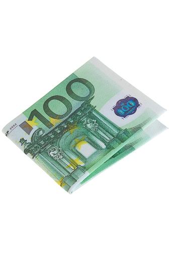 """Подарок путешественнику Красный куб Кошелек """"Евро"""""""