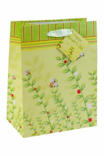 """Пакеты на любой повод Красный куб Пакет подарочный """"Пчелки"""""""
