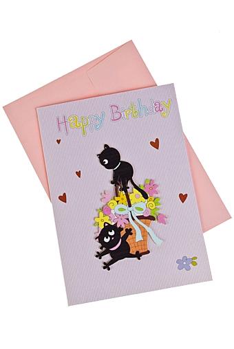 Днем рождения, открытки из красного куба