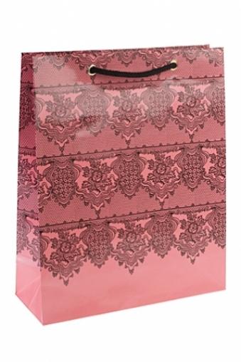 """Пакеты на любой повод Красный куб Пакет подарочный """"Классическая простота"""""""