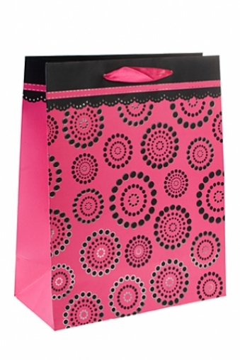 """Пакеты на любой повод Красный куб Пакет подарочный """"Праздничное настроение"""""""