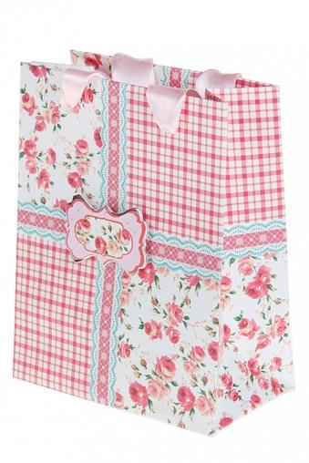 """Пакеты на любой повод Красный куб Пакет подарочный """"Провансаль"""""""