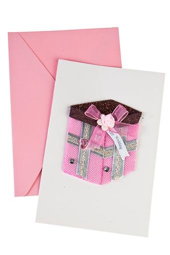 """Открытки ручной работы Красный куб Открытка подарочная """"Красивый подарок"""""""
