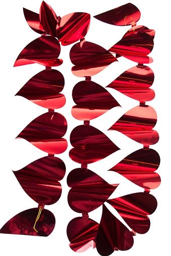 """Декоративные гирлянды и подвески Красный куб Гирлянда декоративная """"Сердца"""""""