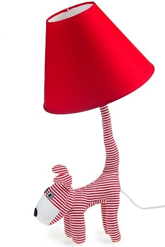"""Настольные лампы Красный куб Светильник электрический настольный """"Добрая собачка"""""""