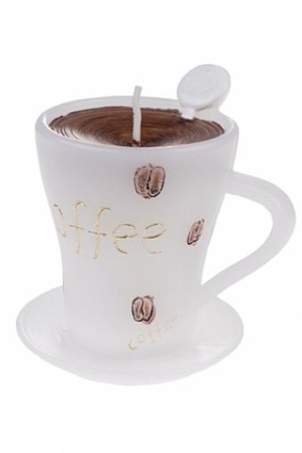 """Свечи для торта и вечеринок Красный куб Свеча """"Чашечка кофе"""""""