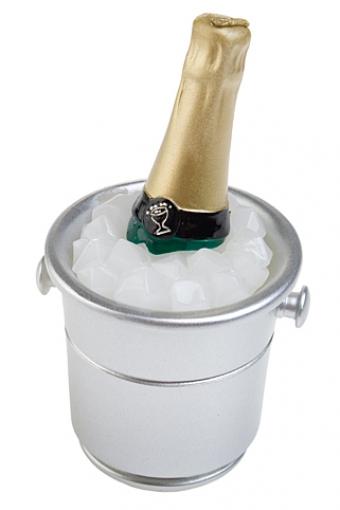 """Декоративные свечи Красный куб Свеча """"Шампанское со льдом"""""""