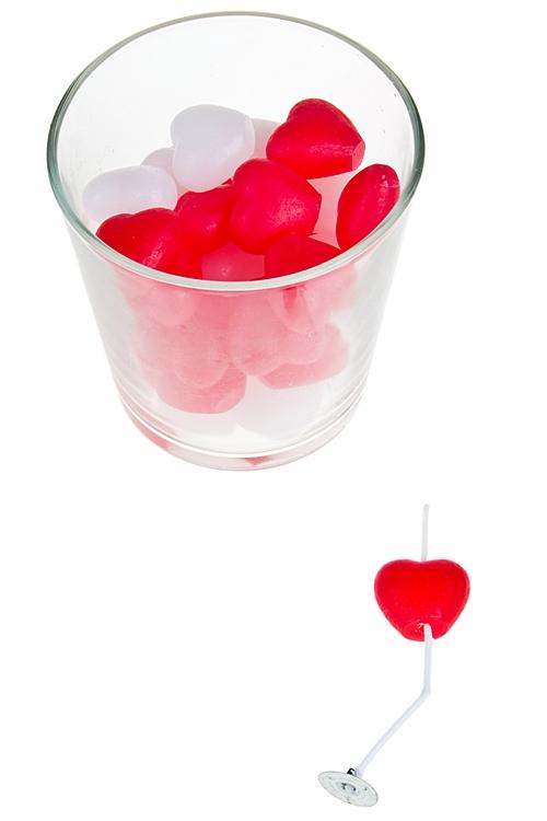 """Подсвечники Красный куб Подсвечник со свечой """"Любовный коктейль"""""""
