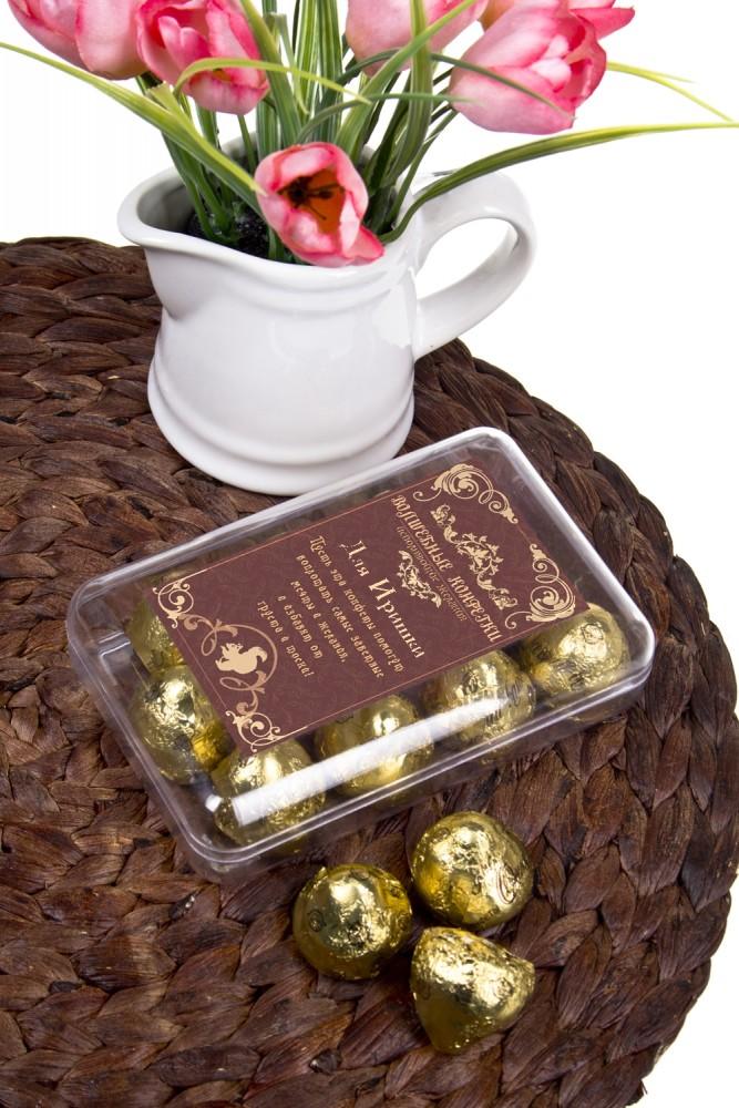 """Сладости Красный куб Коробка шоколадных конфет """"Волшебные конфетки"""""""