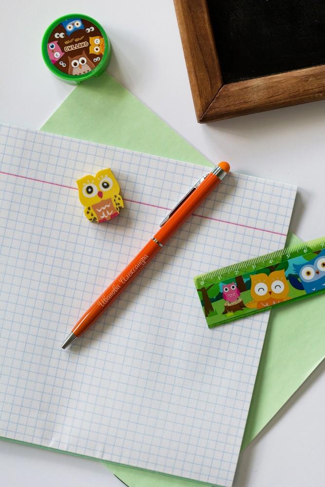 "Ручки и карандаши Красный куб Ручка с нанесением текста ""Яркие краски"""