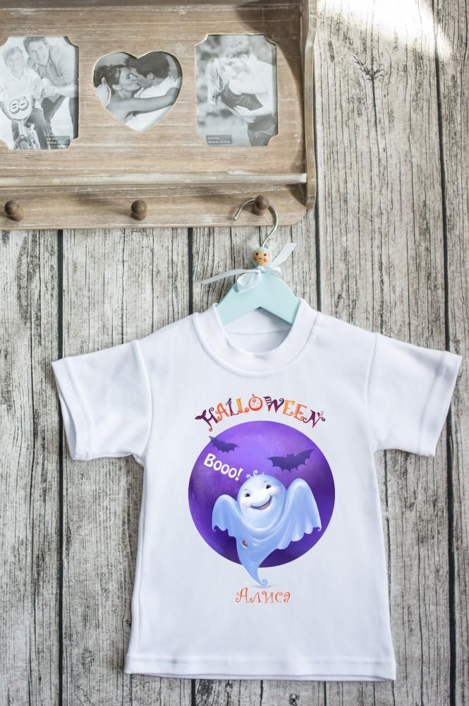 """Подарки для малышей и новорожденных Красный куб Футболка детская """"Хэллоуин"""""""