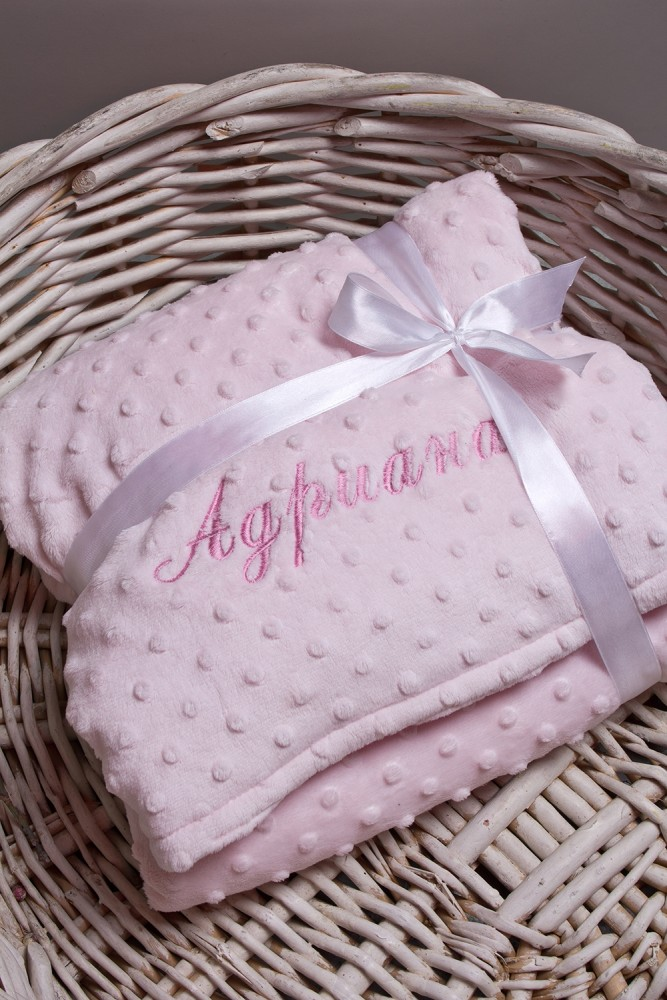 """Подарки детям Красный куб Одеяло с вашим текстом """"Имя"""""""