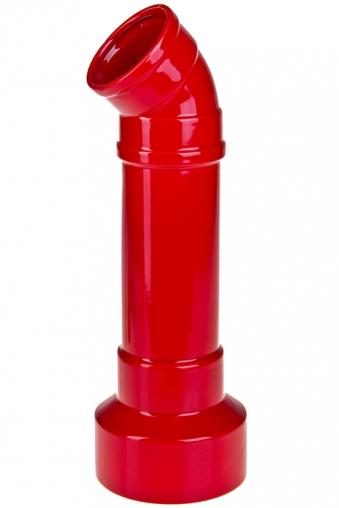 """Керамические вазы и кашпо Красный куб Ваза декоративная """"Фитинг"""""""