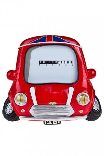 """Пластиковые фоторамки Красный куб Рамка для фото """"Британское авто"""""""
