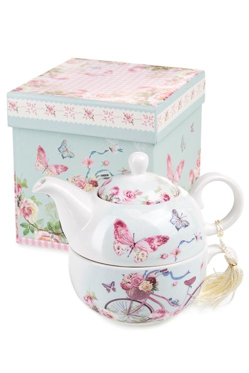 """Чайные наборы Красный куб Набор чайный """"Весенние каникулы"""""""
